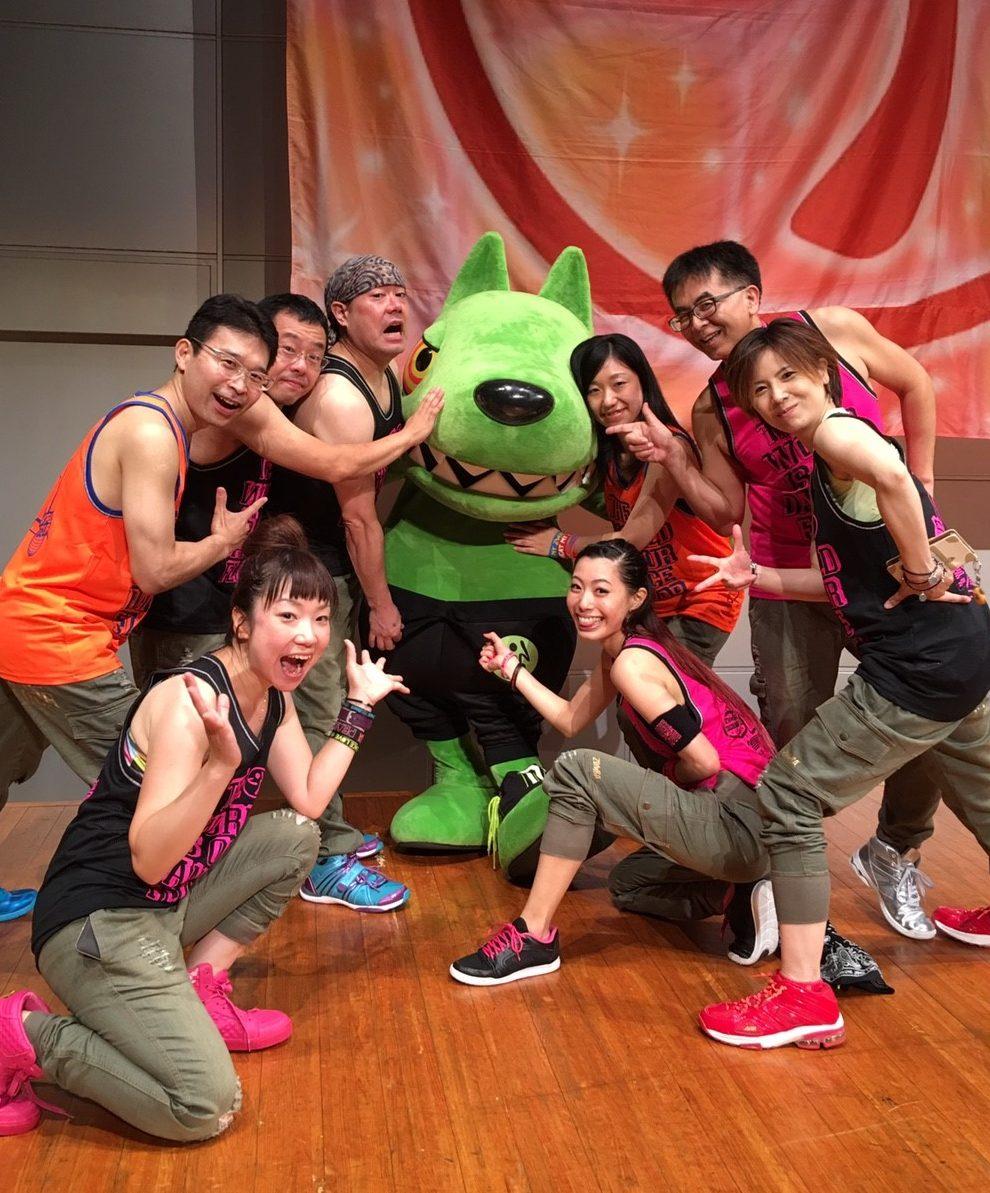 ZUMBA FIESTA CALIENTE 2016 in 横須賀